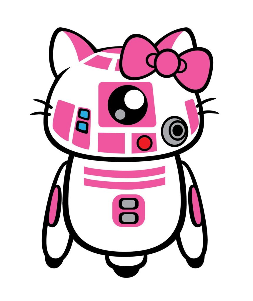 R2 Kt The Pink Droid With The Heart Of Gold